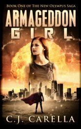 bargain ebooks Armageddon Girl Science Fiction by C.J. Carella