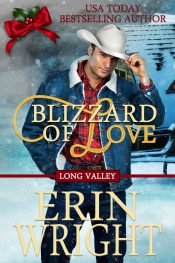 amazon bargain ebooks Blizzard of Love Holiday Western Romance by Erin Wright