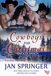 bargain ebooks Cowboys for Christmas Erotic Romance by Jan Springer