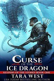 amazon bargain ebooks Curse The Ice Dragon Epic Fantasy by Tara West