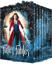 bargain ebooks Fate's Fables Collection: One Girl's Journey Through 8 Unfortunate Fairy Tales Young Adult Fantasy by T. Rae Mitchell