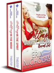 bargain ebooks Getting Naughty...and Nice Holiday Romantic Comedy by Erin Nicholas