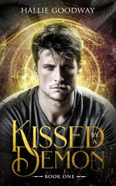 bargain ebooks Kissed By A Demon YA/Teen Parnormal Fantasy Romance by Hallie Goodway