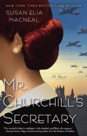 bargain ebooks Mr. Churchill's Secretary Historical Mystery by Susan Elia Macneal