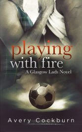 bargain ebooks Playing With Fire LGBT Contemporary Romance by Avery Cockburn
