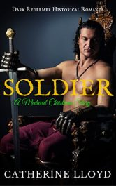 bargain ebooks Soldier: A Medieval Christmas Story Erotic Romance by Catherine Lloyd