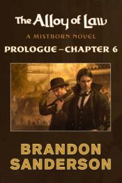 amazon bargain ebooks The Alloy of Law Fantasy Adventure by Brandon Sanderson