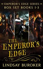 amazon bargain ebooks  The Emperor's Edge Collection Steampunk Science Fiction by Lindsay Buroker