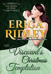 bargain ebooks The Viscount's Christmas Temptation Historical Fiction by Erica Ridley