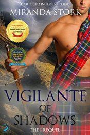 bargain ebooks Vigilante of Shadows Romantic Horror by Miranda Stork