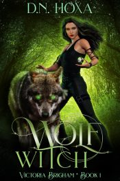 bargain ebooks Wolf Witch (Victoria Brigham #1) Urban Fantasy by D.N. Hoxa