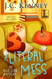 amazon bargain ebooks A Literal Mess Cozy Mystery by J.C. Kenney