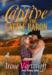 bargain ebooks Captive of the Cattle Barn Sweet Contemporary Romance by Irene Vartanoff