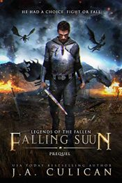 bargain ebooks Falling Suun Fantasy by J.A. Culican