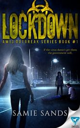 amazon bargain ebooks Lockdown (AM13 Outbreak Series Book 1) Post_Apocalyptic Science Fiction by Samie Sands
