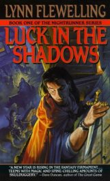 bargain ebooks Luck in the Shadows Action/Adventure by Lynn Flewelling