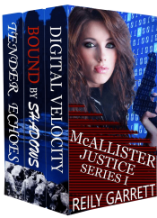 bargain ebooks McAllister Justice Series Box Set Volume One Thriller by Reily Garrett
