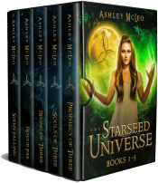 bargain ebooks The Starseed Universe: Books 1-5 Young Adult/Teen Fantasy by Ashley McLeo