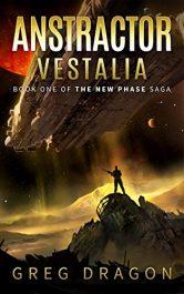 bargain ebooks Anstractor Vestalia Science Fiction Adventure by Greg Dragon
