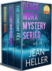 bargain ebooks Deuce Mora Mystery Series Vol. 1-3  Women Sleuth Mystery by Jean Heller