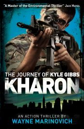 bargain ebooks Kharon Action/Adventure Thriller by Wayne Marinovich