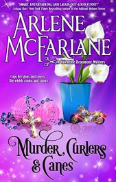 amazon bargain ebooks Murder, Curlers, and Canes Mystery by Arlene McFarlane