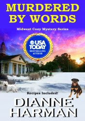 bargain ebooks Murdered by Words Cozy Mystery by Dianne Harman