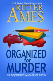 bargain ebooks Organized for Murder Cozy Mystery by Ritter Ames
