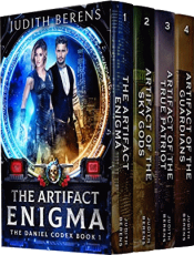 bargain ebooks The Daniel Codex Boxed Set (Books 1-4): The Artifact Enigma, Artifact Of The Sky Gods, Artifact Of The True Patriot, Artifact Of The Guardians Urban Fantasy Action/Adventure by Judith Berens