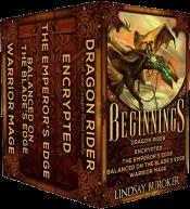 bargain ebooks Beginnings: Five Heroic Fantasy Adventure Novels Fantasy Adventure by Lindsay Buroker