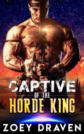 bargain ebooks Captive of the Horde King Science Fiction Romance by Zoey Draven