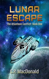 bargain ebooks Lunar Escape Science Fiction by C.P. MacDonald