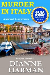 bargain ebooks Murder In Italy Cozy Mystery by Dianne Harman