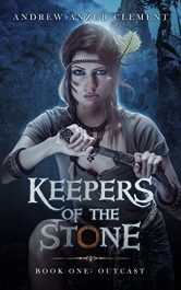 amazon bargain ebooks Outcast: Keepers of the Stone Book One YA/Teen Historical Fantasy by Andrew Anzur Clement