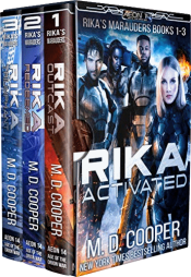bargain ebooks Rika Activated Cyberpunk Science Fiction by Rose Garcia