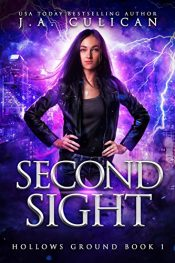 bargain ebooks Second Sight YA Fantasy Adventure by J.A. Culican
