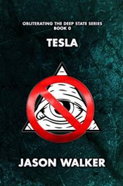 bargain ebooks Tesla: Obliterating the Deep State SciFi Thriller by Jason Walker