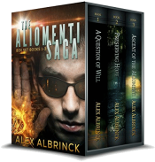 bargain ebooks The Aliomenti Saga Box Set (Books 1-3) Science Fiction by Alex Albrinck