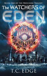 bargain ebooks The Watchers of Eden Young Adult/Teen Action/Adventure by T.C. Edge