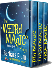 bargain ebooks The Weird Magic Trilogy Box Set Paranormal Comedy Romance by Barbara Plum