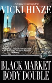 bargain ebooks Black-Market Body Double Romantic Thriller by Vicki Hinze