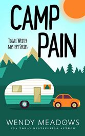 amazon bargain ebooks Camp Pain Cozy Mystery by Wendy Meadows