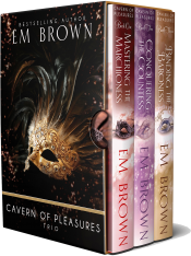 bargain ebooks Cavern of Pleasures Boxset: Georgian Regency Romance Erotic Romance by Em Brown