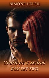 bargain ebooks Charlotte's Search Box Set Two Erotic Romance by Simone Leigh