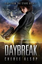 amazon bargain ebooks Girl from the Stars Book 1- Daybreak Action Adventure by Cheree Alsop