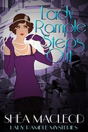 bargain ebooks Lady Rample Steps Out Mystery by Shéa MacLeod