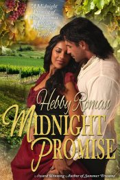 bargain ebooks Midnight Promise Historical Romance by Hebby Roman