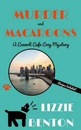 bargain ebooks Murder and Macaroons Cozy Mystery by Lizzie Benton