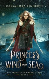 bargain ebooks Princess of Wind and Sea Historical Fantasy Adventure Romance by Cassandra Finnerty