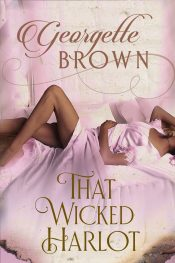 bargain ebooks That Wicked Harlot Erotic Romance by Em Brown